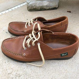 Vintage Bass loafers 8.5 brown leather